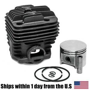 Cylinder Piston Fits Stihl Ts400 Concrete Saw 49mm Rings 42230201200