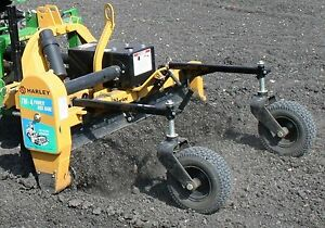 Harley Landscape Power Rake 5 Angle runs On Std Hydraulics fits All Brand Skids