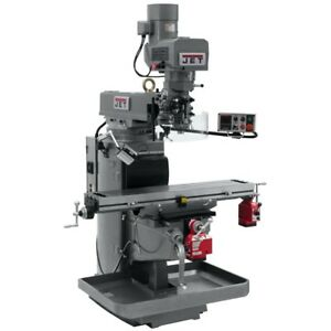 Jet 690603 Jtm 1050evs2 230 Mill With X And Y axis Powerfeeds