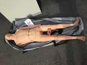 Simulaids Nasco Patient Care Nursing Skills Training Full Body Manikin