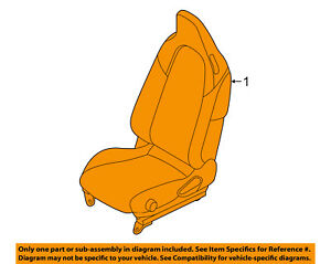 Fiat Oem 17 18 124 Spider Front seat Assembly Left 6jy35u0daa