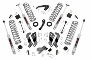 Rough Country 69430 3 5in Lift Kit Ctrl Arm Drop For 07 18 Jeep Wrangler Jku