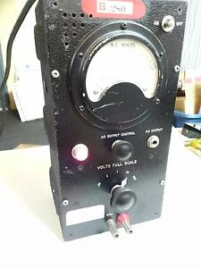 Vintage And Rare Weston Voltmeter Model 300 643 By Ballantine Fast Shipping