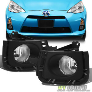 For 2012 2014 Toyota Prius Fog Lights Bumper Lamps W Switch Left Right 12 13 14