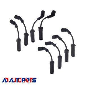 Acdelco 9748uu Spark Plug Wire Set W heath Shield For Ls3 Ls7 Ls9 Chevy Gmc