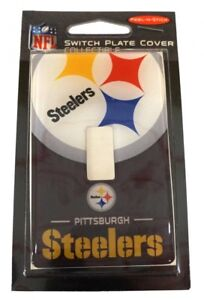 Pittsburgh Steelers NFL Single Switch Plate Cover $7.95