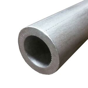 304 Stainless Steel Round Tube 1 3 8 Wall 0 188 Length 24 Seamless
