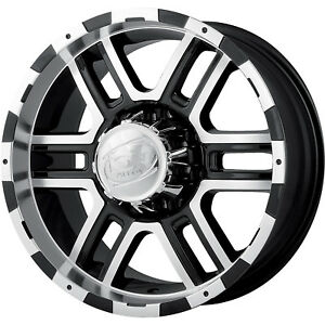 18x9 Black Alloy Ion Style 179 6x5 5 12 Wheels Nitto Trail Grappler 285 65 18