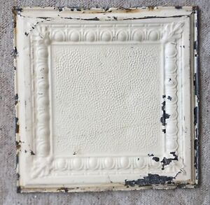 1890 S 24 X 24 Antique Reclaimed Tin Ceiling Tile Tan 168 18 Anniversary