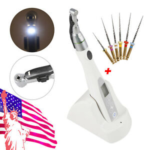 Usa Dental Led Endo Motor Root Canal Treatment Wireless Cordless Contra Angle