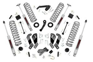 Rough Country 3 5 Lift Kit W Control Arm Drop 07 18 4 Dr Jeep Jk Wrangler 69430