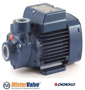 Pedrollo Pump Water Distribution Irrigation Pk 65 0 7 Hp 230 460v 0 5kw 1 x1