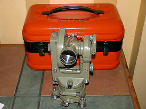 Leica Wild Heerbrugg Rds Surveyor Swiss Theodolite Self reducing