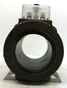 General Electric Current Transformer Type Jak 0 Ratio 800 5 Amp