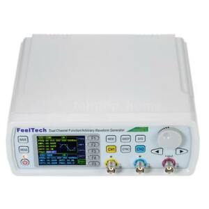 Feeltech 50mhz Dual Channel Dds Function Signal Generator Frequency Meter U8l8