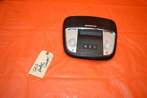 11 12 13 Dodge Charger Oem Overhead Roof Console Maplight Homelink
