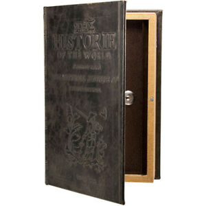 Barska Antique Book Safe W Key Lock Cb11994 Makes A Great Gift Item