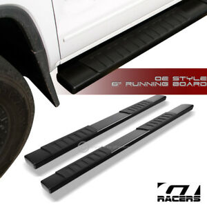 For 2015 2019 Chevy Tahoe Gmc Yukon 6 Aluminum Blk Side Step Running Boards