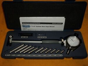 New Fowler 52 646 300 Dial Bore Gauge 2 6 With 11 Anvils