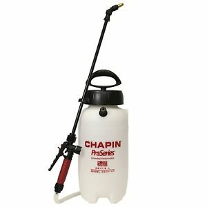 Chapin 26021xp 2 gallon Proseries Poly Sprayer For Fertilizer Herbicides And