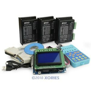 3 Axis Cnc Controller Kit Standard Version Breakout Board M542 Stepper Driver