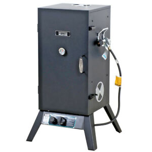 30 Propane Smoker Commercial Restaurant Residential 9000 Btu Outdoor Barbecue