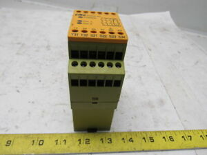 Pilz Pnoz X3 Ident Nr 774316 2 Channel Safety Relay 120vac 24vdc Lot Of 2