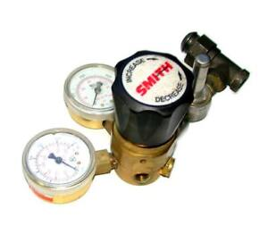 Smith H1935d 580 Nitrogen Regulator Assembly W gauges 4000 Psi