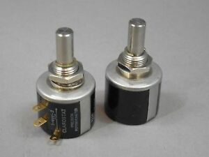 Clarostat Variable Resistor 73ja1k Potentiometer