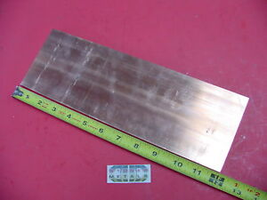 1 4 x 4 C110 Copper Bar 12 Long Solid Flat Bar 25x 4 Bus Bar Mill Stock
