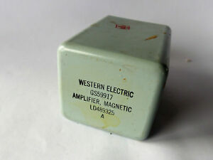 Vintage Western Electric Gs59917 Magnetic Amplifier Ld489325 Nos