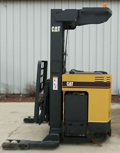 Caterpillar Model Nrr40p 2002 4000 Lbs Capacity Great Reach Electric Forklift