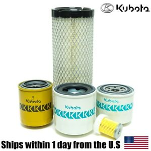 Genuine Oem Kubota L2800 L3400 L3700su Hst Filter Maintenance Kit