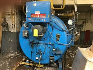 Cleaver Brooks Boiler Oil Natural Gas High Pressure 3 Phase 240 Cb266 125