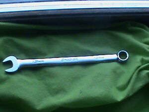 Snap On Metric 12mm Standard Combination Wrench Flank Drive 12 Point Oexm120b