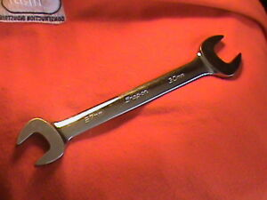Snap On Usa 27 30mm Standard Metric Open End Wrench Vom2730b