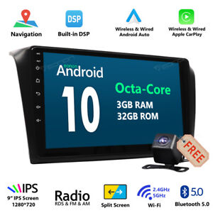 For Mazda 3 2004 2005 2006 2007 2008 2009 Car Dvd Stereo Gps Radio Android Cam E