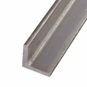 304 Stainless Steel Angle 1 1 2 X 1 1 2 X 24 1 4 Thickness
