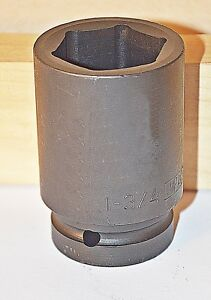 1 3 4 Inch Armstrong Usa 1 Inch Drive 6 Point Deep Impact Socket