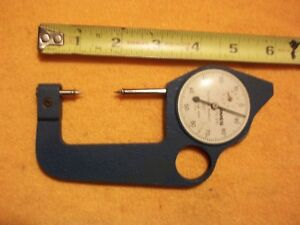Ames 76 070 Thickness Gauge Precision Dial Micrometer 001