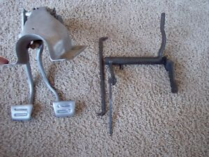 1968 68 Chevy Ii Nova Brake Clutch Brake Pedals With Linkage Z Bar