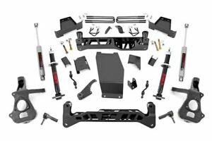 Rough Country 7 Suspension Lift Kit 2018 Chevy gmc Silverado sierra 1500 4wd