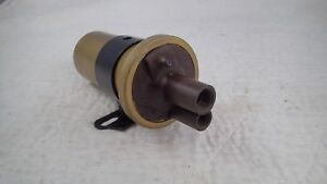 Vintage Auto Lite 6 Volt Automotive Ignition Coil With Bracket 1g 6v 3a