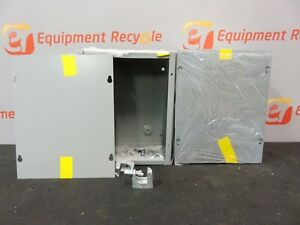 Hoffmann Ase10x8x4 Cvr Pull Box Electric Electrical Enclosure Lot Of 3 New