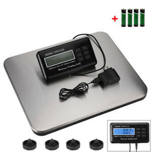 660lb Lcd Ac Digital Heavy Duty Metal Industry Platform Postal Scale 330kg Usa