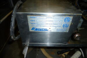 Avalon 75 Lbs Grease Filtering Machine Model Arf 26 S steel 900 More Items
