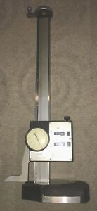 Starrett 12 Inch Digital Dial Height Gage No 259 12 Made In U s a