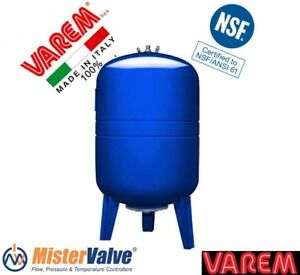 Varem 26 5 Gallons Vertical Pressure Tanks For Potable Water And Pump Syst