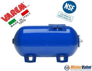 Varem 10 6 Gallons Horizontal Pressure Tanks For Potable Water And Pump Systems