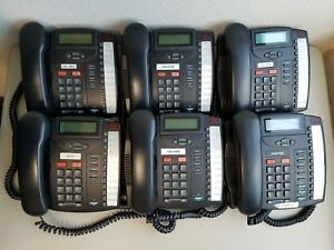 Lot Of 6 Aastra 9116lp Analog Lcd Display Phones With A 90 Day Warranty